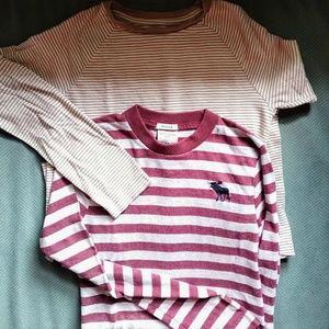 2 long sleeve shirts